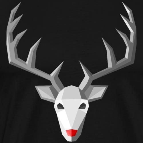 Rudolph - Männer Premium T-Shirt