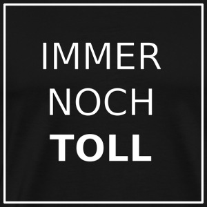nb_20161211_immernochtoll_black_02 - Premium T-skjorte for menn