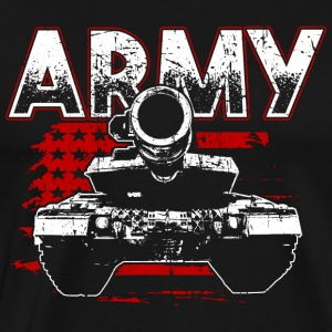 Soldat! Army! Military! Patriot! - Premium-T-shirt herr