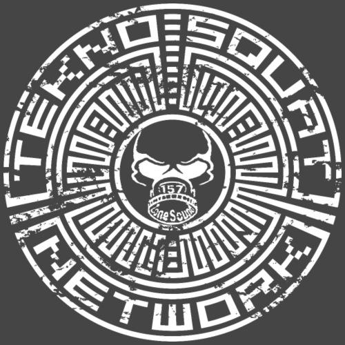 157 zone geluid teknosquat - Mannen Premium T-shirt