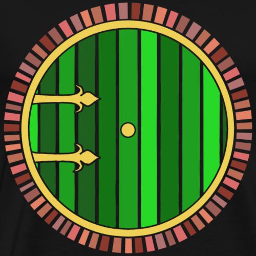 Hobbit Tür - Männer Premium T-Shirt