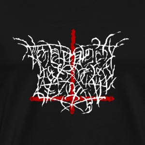 Fake metal band - Herre premium T-shirt