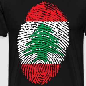 LIBANON 4 EVER COLLECTION - Miesten premium t-paita
