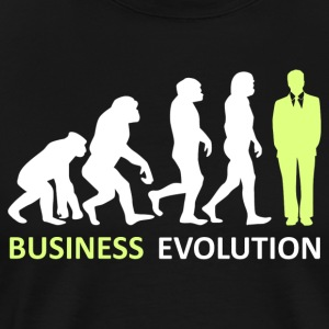 ++ ++ Business Evolution - Premium-T-shirt herr