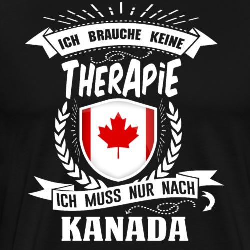 Therapie Kanada WHT - Männer Premium T-Shirt