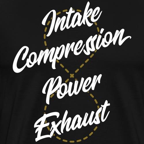 4 Stroke Infinity - T-shirt Premium Homme