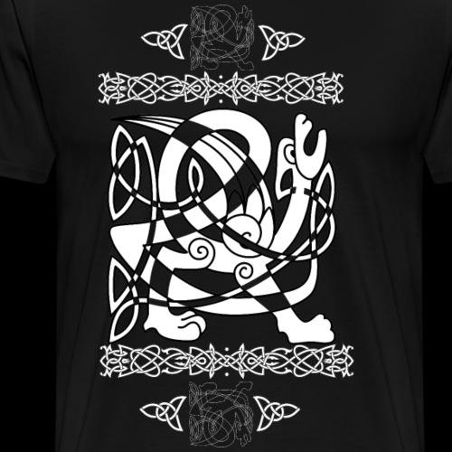 Keltischer Drache - Männer Premium T-Shirt