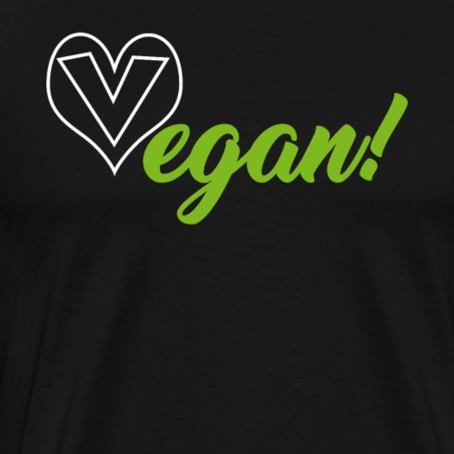 Vegan - Veganer, Veganerin - Männer Premium T-Shirt
