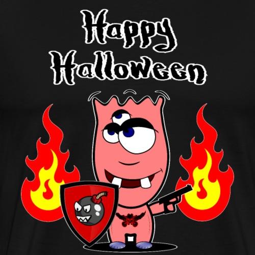Happy Halloween - Monster Nacht Süßes oder Saures - Männer Premium T-Shirt