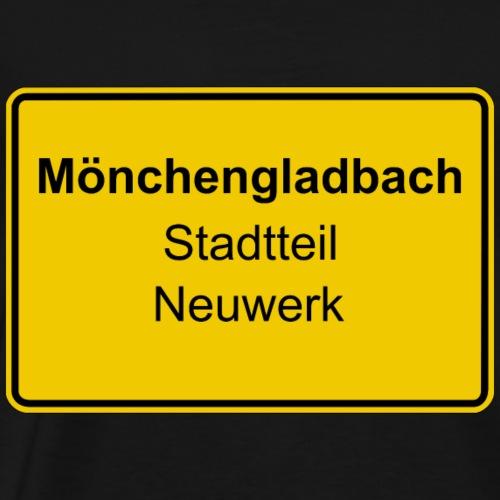 Moenchengladbach Stadtteil Neuwerk - Männer Premium T-Shirt