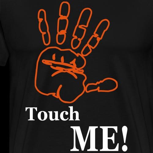 Handfläche touch me! - Männer Premium T-Shirt