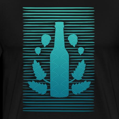 Craft Bier Hobbybrauer Brauer Braumeister Hopfen - Männer Premium T-Shirt