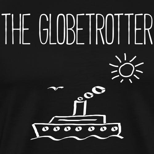 THE GLOBETROTTER - Dampfer Boote Geschenk Shirts - Männer Premium T-Shirt