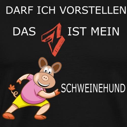 Mein Schweinehund - Männer Premium T-Shirt