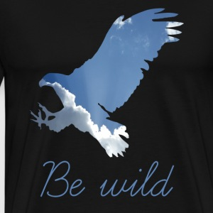 ADLER BE WILD - Men's Premium T-Shirt