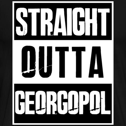 Straight outta Georgopol - PUBG Battleground - Männer Premium T-Shirt