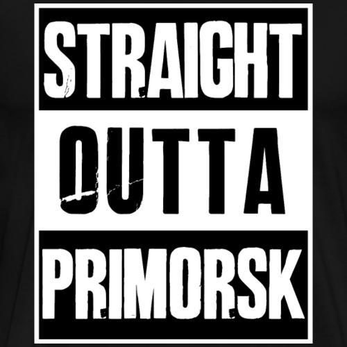 Straight outta Primorsk - PUBG City - Battleground - Männer Premium T-Shirt