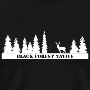 Black Forest Native - Männer Premium T-Shirt