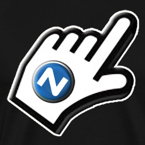 Logo Niteruner - Männer Premium T-Shirt