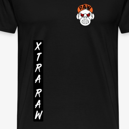 xtra raw vertical - T-shirt Premium Homme