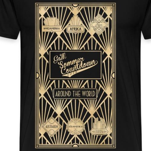 Art Deco - Männer Premium T-Shirt