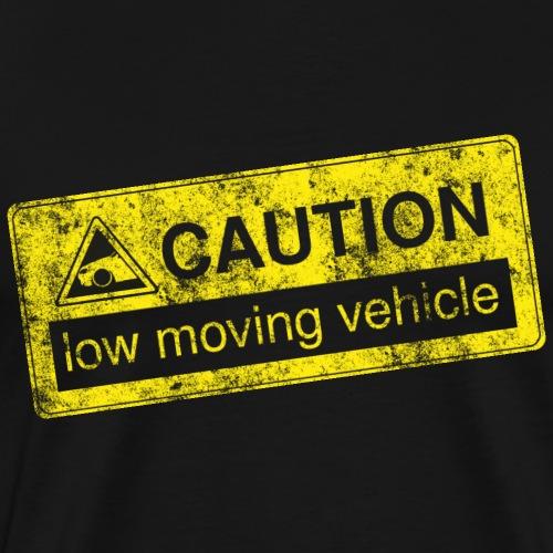 caution lowmovingvehicle by GusiStyle - Männer Premium T-Shirt