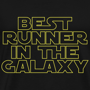 Best Runner in the Galaxy - Men's Premium T-Shirt