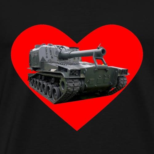 Heart M55 alt - Men's Premium T-Shirt