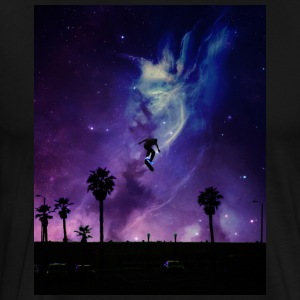 Skate to Space - Men's Premium T-Shirt