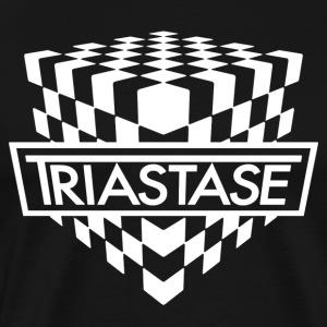 Triastase Logo White - Men's Premium T-Shirt