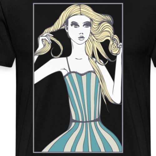 Goldloeckchen - Männer Premium T-Shirt