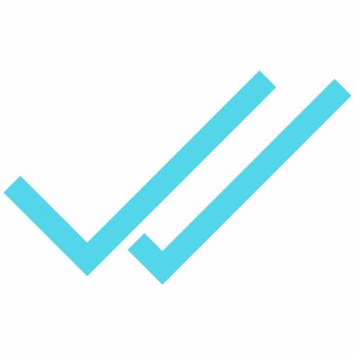 Whats App Haken Blau - Männer Premium T-Shirt