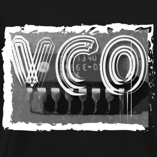 VCO Synthesiser chip apparel - Men's Premium T-Shirt