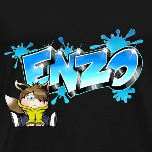 Enzo Graffiti Name - T-shirt Premium Homme