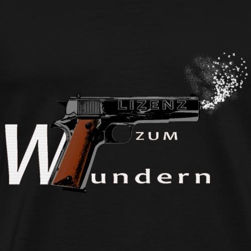 Lizenz zum Wundern - Männer Premium T-Shirt