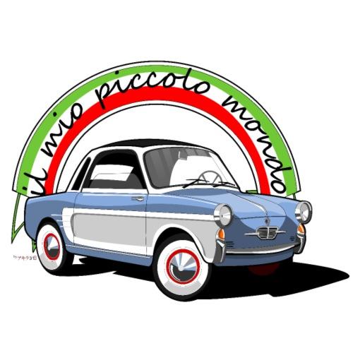 Coche clásico italiano: Il mio piccolo mondo - Camiseta premium hombre