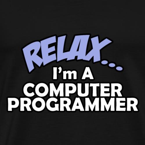 02 relax cprogrammer - Männer Premium T-Shirt