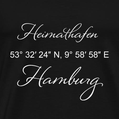 Heimathafen Hamburg - Männer Premium T-Shirt