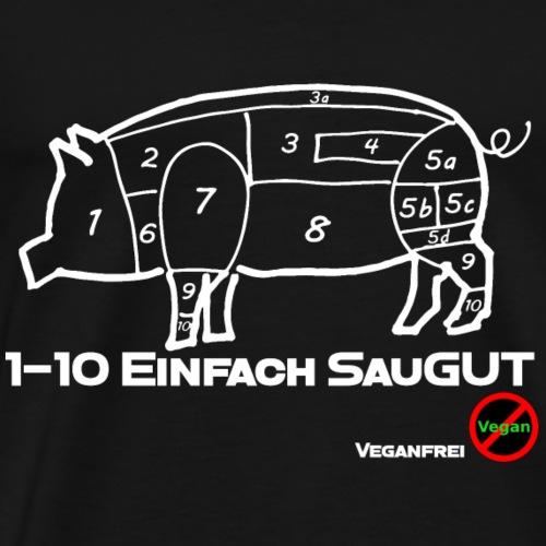 SauGut - Männer Premium T-Shirt