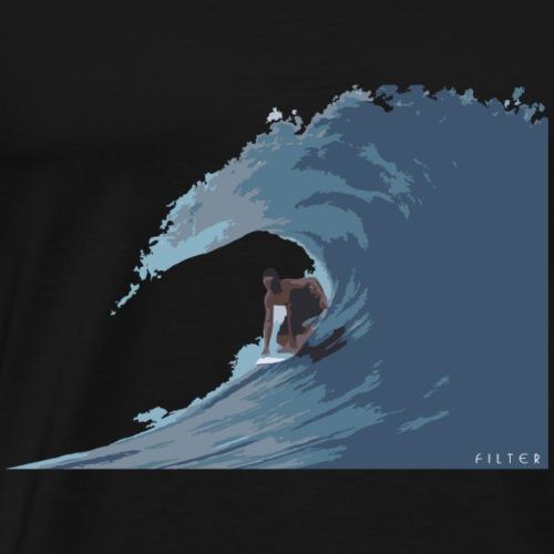 Surf - Maglietta Premium da uomo