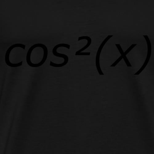 Set sin²(x)+cos²(x)=1 Mathe Kinder frische Pärchen - Männer Premium T-Shirt