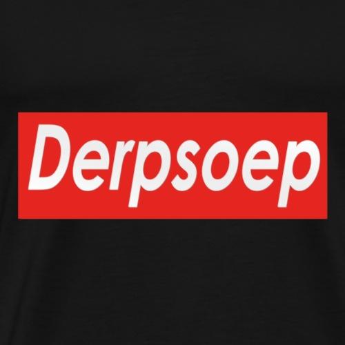 Derpsoep Sup-reme parodie - Mannen Premium T-shirt