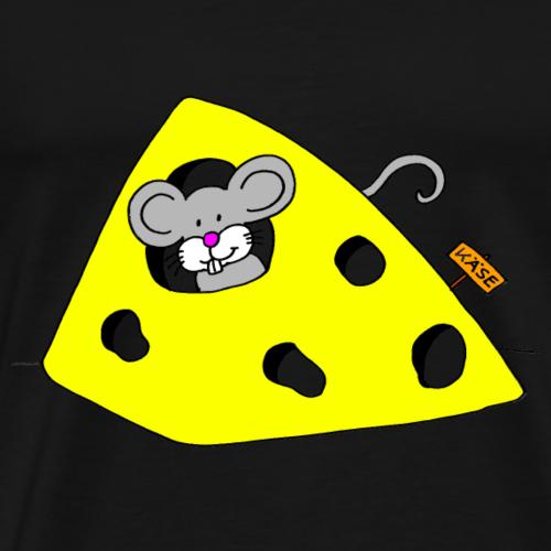 Liebevolles Maus Motiv von Janisha Sommer - Männer Premium T-Shirt