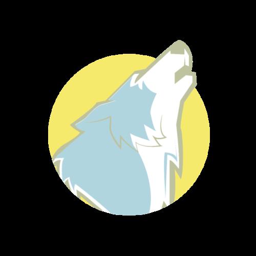 Heulender Wolf | Tier Wildnis Geschenk - Männer Premium T-Shirt