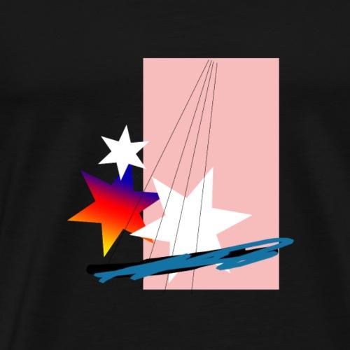 pinkstars - Männer Premium T-Shirt