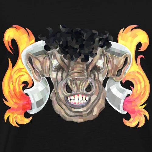 Taurus Bull God - Men's Premium T-Shirt