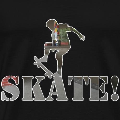Skate! - Männer Premium T-Shirt