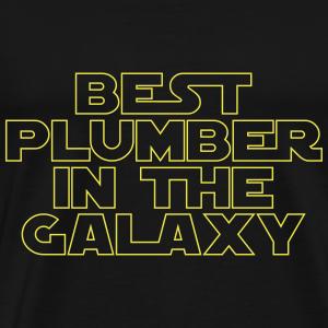 Best Plumber in the Galaxy - Men's Premium T-Shirt