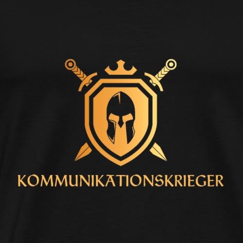 Kommunikationskrieger - Männer Premium T-Shirt