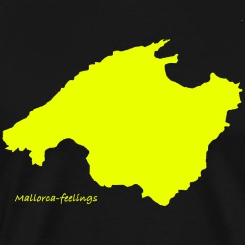 mallorca-feelings gelb - Männer Premium T-Shirt
